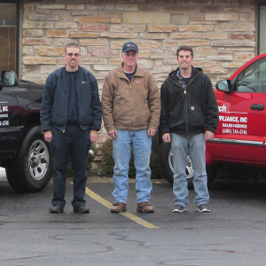 Refrigerator Repair technicians from Kirch Appliance Repair, Madison, Wi