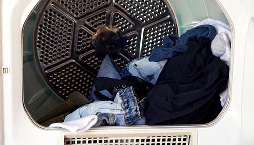 Broken clothes dryer in need of repair